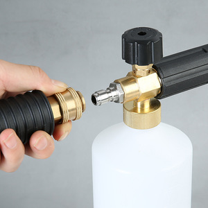 Image 4 - مسدس فوم لغسيل السيارات بالضغط ، فوهات رش لكارشر/لافور/نيلفسك/بوش ، 1000 مللي