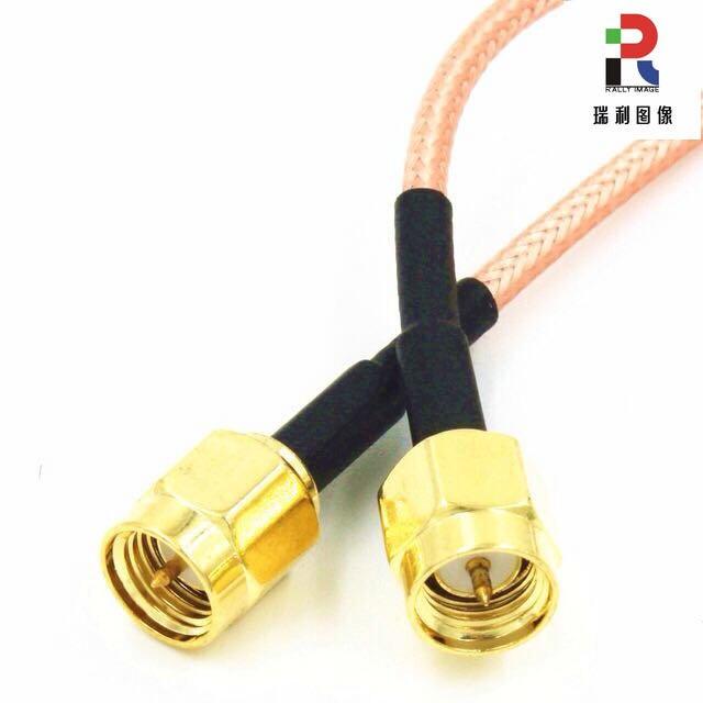 High Temperature Wire RG316 Inner Screw Inner Needle SMA Extension Line 15cm 30cm 1.5 Meters 2.5 Meters