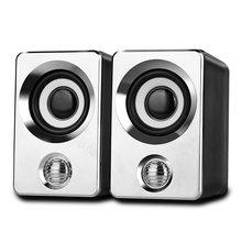 Usb динамик мини портативный с hd аудио сильная совместимость