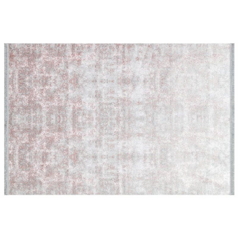 Apex Lucca 3 'x 5' полипропиленовый розовый коврик