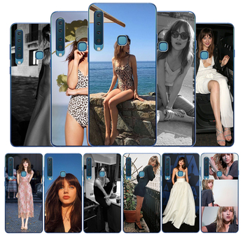 Dakota Johnson Soft Silicone Phone Case For Samsung A10 A20E A30 A40 A50 A70 A80 A3 A5 A7 2016 A8 2017 A6 A9 2018 image