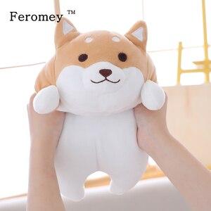 Image 1 - Poupée en peluche chien Shiba Inu 35/55cm gros chien, Kawaii, poupée de chiot, dessin animé, oreiller, jouet, cadeau pour enfants