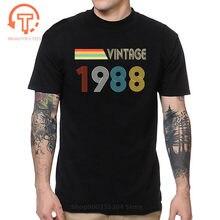 Camisa retro de los 80s de la marca retrechy, camisa clásica de 1988 para regalo de cumpleaños, camisa para receber números