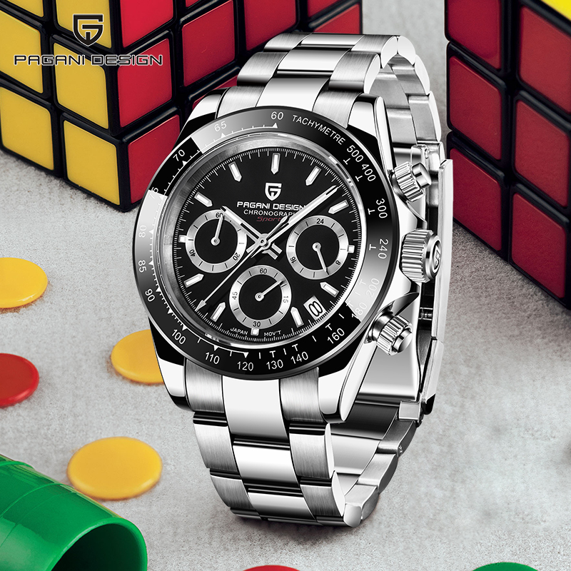 Quartz Men's Watches PAGANI DESIGN 2020 Business Casual Men Watch Top Brand Luxury Steel Wristwatch New Sprot Relogio Masculino