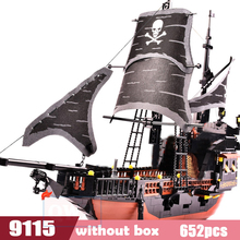 DIY Model Sets Pirates Castle Figures Caribbean Building Blocks Children Toys Kids Educational Bricks Gifts ynynoo enlighten 308 pirates series black pearl building block sets educational diy construction bricks baby toys for children page 3
