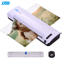 DSB A3 Laminator Photo/Paper/Document Hot Cold Laminating Machine 13 Inch Entry Width 125mic Pouch Thickness with Paper Trimmer