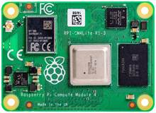 Cm4102000 raspberry pi calcule módulo 4 lite, com 2gb de ram, sem fio, bcm2711, braço Cortex-A72