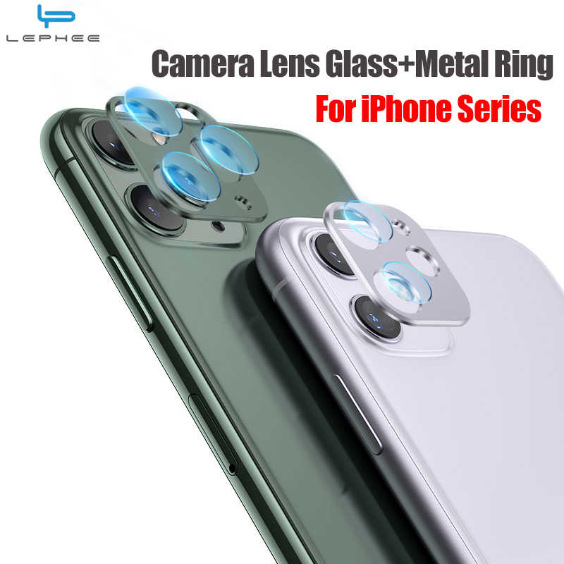 Gehard Glas Op Voor Iphone 11 Pro X Xr Xs Max Glas Back Camera Lens Screen Protector Ring Cover Voor iphone 11 Xs Xr X Case