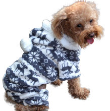 best selling 2019 Fashion Pet Dog Warm Clothes Puppy Jumpsuit Hoodie Coat Doggy home decoration accessories dropshipping(China)