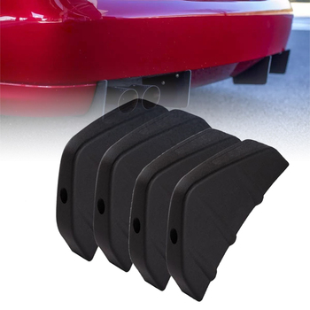цена на New Fashion Arrival Universal Car Rear Bumper Lip Diffuser Car Back Bumper Spoiler Lip Splitter Car-Styling Car Accessories