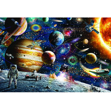 Puzle-rompecabezas de 1000 piezas para adultos, juguetes educativos para viajes espaciales, 1000 Uds.