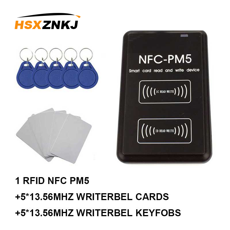 NFC PM3 RFID Writer IC 13.56MHZ Card Reader Copier Duplicator Full Decoding Function