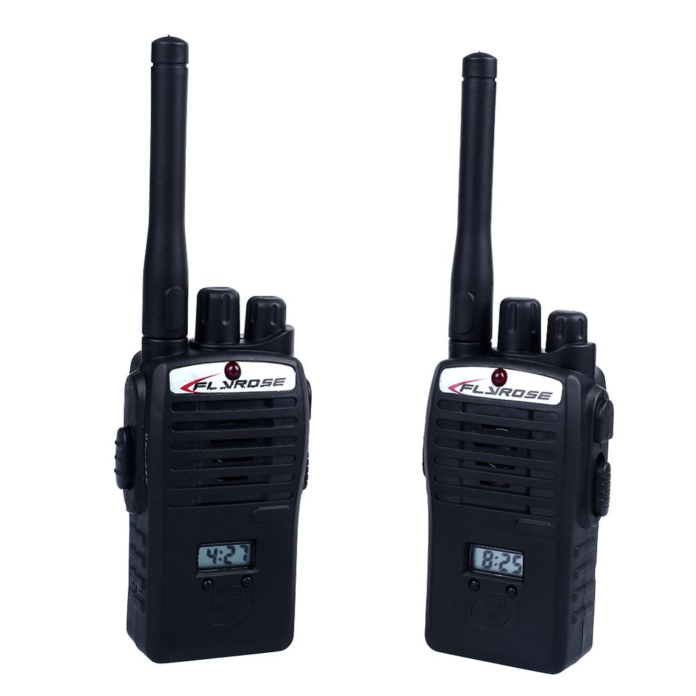 2Pcs Mini Wireless Children's Walkie-Talkie Toy Kids Portable Electronic Toys Outdoor Funny Two-Way Radio