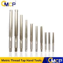 Toque de rosca métrica Trapezoidal, herramientas de mano derecha/izquierda, 1 pieza TR8 10 12, grifo de rosca para máquina, envío gratis