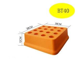 Image 5 - 1PCS bt40 bt30 BT30 BT40 BT50 תיבת אחסון מקרה פלסטיק תיבת איסוף תיבת עבור CNC כלי מחזיקי איסוף כלי מקרה