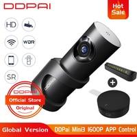 Original DDPai Mini3 Dash Cam DVR 1600P HD English Version 32GB Car Dash Camera 24H Parking WiFi DVR Recorder