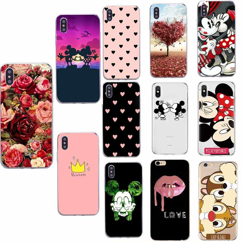Luxury Soft Silicon Candy Back Cover Case For iPhone XS XR XS Max 6 6s Plus X Ten 10 7 8 Plus Back Cover Coque Cases