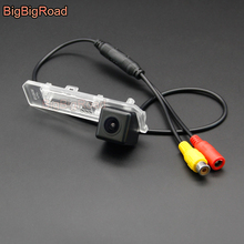 BigBigRoad Wireless Vehicle Rear View Parking CCD Camera Waterproof For Volkswagen Lavida 2008 2009 2010 2011 HD Color Image
