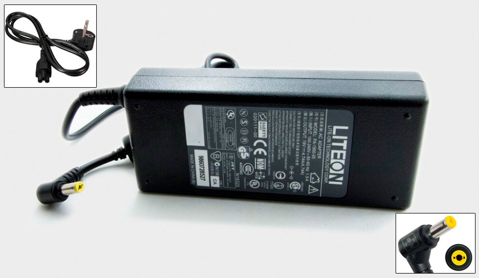 Блок питания для Emachines G730ZG 90W