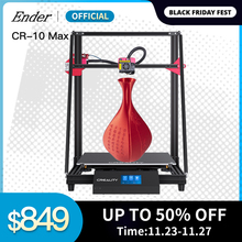 CR 10 Max 3d drukarki większy rozmiar wydruku 450*450*470 złoty trójkąt automatycznego poziomowania wznowić druku ekran dotykowy 8G TF Creality 3D