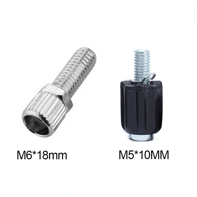2PC M5*18mm MTB Aluminum Brake Lever Clamp Bolts Bike Seat Post Clamp Screws New