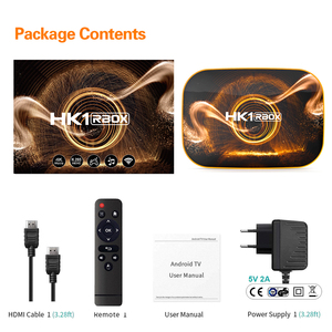 Image 5 - HK1 R1スマートテレビボックスアンドロイド10.0 4ギガバイト64ギガバイトなrockchip RK3318 1080 1080p H.265 4 18k googleプレーヤー店HK1 rbox R1セットトップボックスpk H96 X96