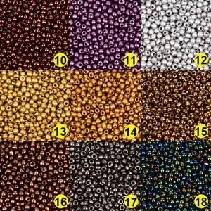 Approx.1000шт 2 мм Matellic Charm чешские стеклянные бусины Бисер для изготовления ювелирных изделий браслет ожерелье DIY аксессуары оптом