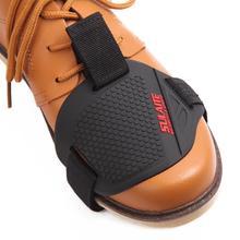 Мотоциклетные ботинки Защитная крышка Черный мотоцикл мото шестерни переключения мужские ботинки крышка Сдвиг Носок мото загрузки крышка переключения
