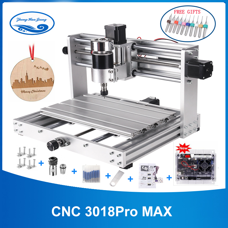 CNC Machine 3 Axis PCB Milling machine With 200W Spindle 3