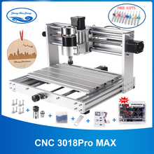 CNC 3018 Pro MAX Engraver With 200W Spindle,15w big power laser engraving 3 Axis pcb Milling machine With ER11 DIY Wood Router