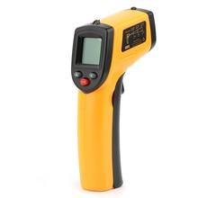 Портативный ЖК-цифровой лазерный термометр Температурный пистолет инфракрасный бесконтактный ИК WHPT