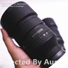 Lens Premium Della Protezione Della Pelle Della Decalcomania Lucido Nero Per Sony Lens 16 35 f4 24 70 2.8GM 70  200 2.8GM f4 70 300 Dellinvolucro di Copertura Caso di Usura