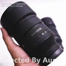 Protetor de pele de lente premium decalque preto brilhante para sony lente 16 35 f4 24 70 2.8gm 70 200 2.8gm f4 70 300 capa envoltório wear caso