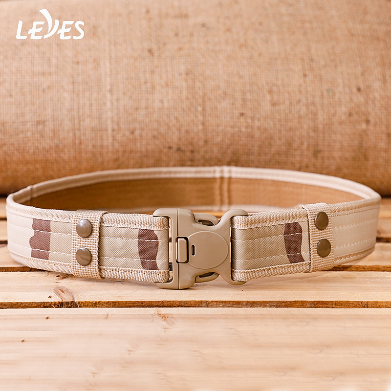Tactical Belt Military Wide Webbing High Quality Nylon Belts For Men Canvas Fast Freed Buckle Battle Hunting Outdoor Training