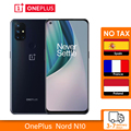 Глобальная версия OnePlus Nord N10 5G 6 ГБ 128 Snapdragon 690 смартфон 6,49 90 Гц FHD + безрамочный экран с Дисплей 64MP Quad камеры Warp заряда 30NFC
