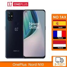 Versão global oneplus nord n10 5g 6gb 128 snapdragon 690 smartphone 6.49 90hz fhd + display 64mp quad cams warp carga 30nfc