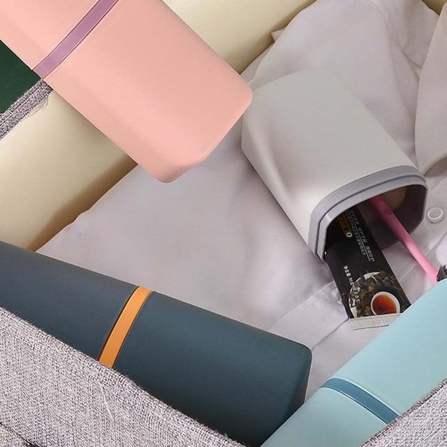 Фото держатель для зубных щеток портативный ящик открытый дорожная