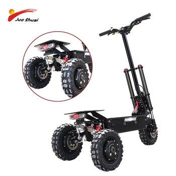 Patinete eléctrico todoterreno, ruedas de motores 3*1600w, Patinete eléctrico plegable 80 km/h, Patinete eléctrico Adulto, escúter