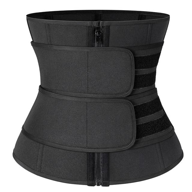 Slimming Girdles Waist Trainer Women Body Shaper Waist Corset Neoprene Sweat Sport Trimmer Belt Workout Support Boned Shapewear 5