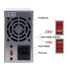 Image 3 - NPS3010W Labor Netzteil 30V10A Strom Regler Schalter Netzteil Einstellbar Spannung Regler Bank Quelle Digital