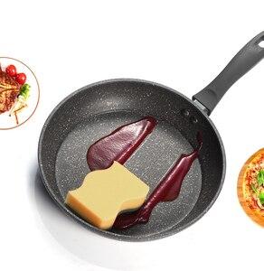 Image 4 - Frigideira de cobre antiaderente de 20 & 26 polegadas com revestimento cerâmico e indução de cozimento, forno e máquina de lavar louça segura