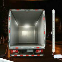 1pcs12v 24v smd 5630 led barra de luz interior do carro tubo tira lâmpada van barco caravana motor casa caminhão branco lâmpada leitura com interruptor