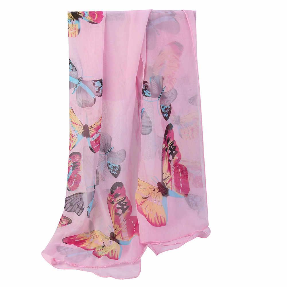 Moda mujer Boho Floral largo bufanda cuello Casual abrigo señora playa chal grande suave estola bufandas un tamaño para niñas # L