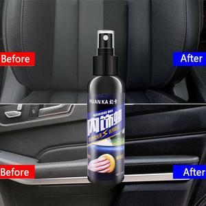 Image 4 - Kit de limpiador de neumáticos para salpicadero, 50ml/120ml, para el cuidado del Interior del coche, asiento de cuero, sofá