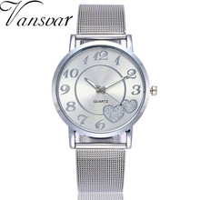 Vansvar Fashion Women's Watches Casual Watches Quartz Stainl
