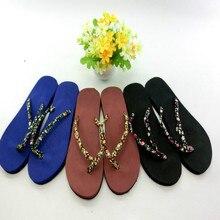 2019 new summer beach slippers sandals womens flat fashion floral female