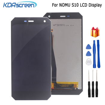 Original For Nomu S10 LCD Display Touch Screen Digitizer Assembly Phone Parts For  Nomu S10 Screen LCD Display Free Tools for oukitel k6000 plus lcd display touch screen digitizer for oukitel k6000 plus display screen lcd phone parts free tools