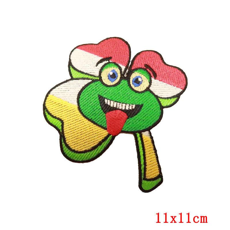 Pulaqi Oeteldonk Emblem Emblemi Pieno Ricamato Rana di Carnevale Per Netherland Iron On Ricamato Abbigliamento Toppe E Stemmi Per Abbigliamento