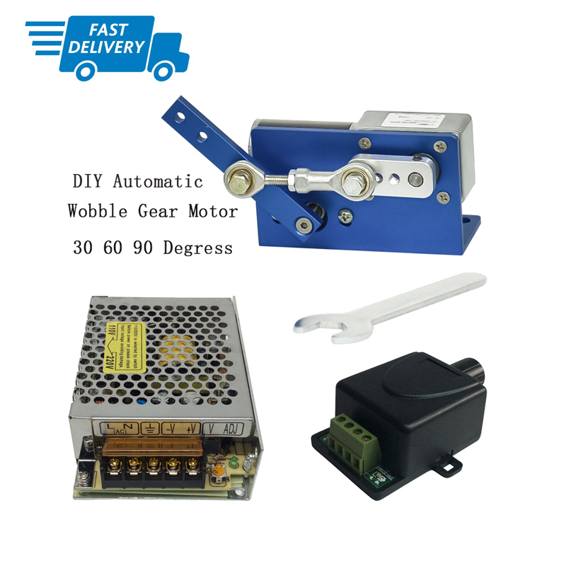 DIY Design DC24V Reciprocating Motor+Switching Power Supply+PWM Speed Controller