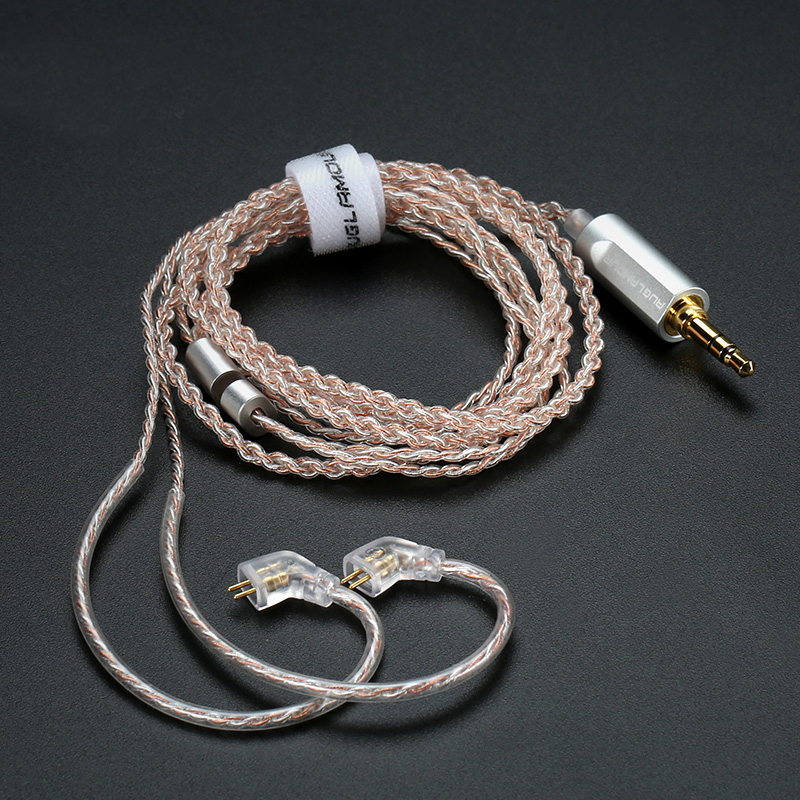<font><b>0.78</b></font> mm <font><b>2pin</b></font> Silver Plated Upgrade <font><b>Cable</b></font> Replacement Headphone <font><b>Cable</b></font> With 3.5 Jack image